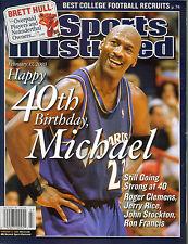 MICHAEL JORDAN BULLS 2003 SPORTS ILLUSTRATED CHICAGO BULLS WASHINGTON WIZARDS