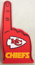 Kansas City Chiefs Foam Finger #1 Fan - 18 in! Great for Super Bowl Party!