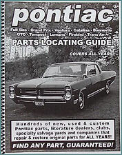 Find ANY Pontiac Part with this book Guaranteed