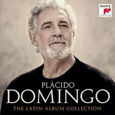PLACIDO DOMINGO THE LATIN ALBUM COLLECTION COFANETTO 8 CD NUOVO E SIGILLATO !!