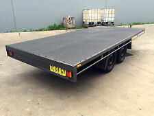 Budget Table Top Flat bed Trailer TANDEM AXLE 14X6.4FT 2T 10ft 16ft avail