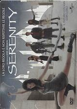 Dvd video Steelbook **SERENITY** Metal Box nuovo sigillato 2005