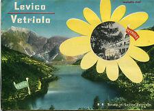 DEPLIANT PIEGHEVOLE 1941 LEVICO VETRIOLO REGIE TERME BOGGERI REMO  MURATORE