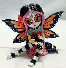 Elegant Camilla Fairy Figurine - Sugar Skull Fairy  - Jasmine Becket Griffith