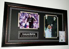 *** Rare GIANLUIGI BUFFON of Juventus Signed Photo Picture Autograph Display ***