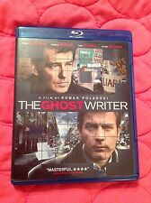 THE GHOST WRITER BLU-RAY 2010 MYSTERY MOVIE EWAM MCGREGOR PIERCE BROSNAN