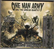 ONE MAN ARMY - 21st century killing machine CD