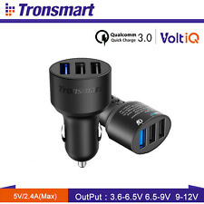 [Quick Charge 3.0] Tronsmart 42W 3-Port USB Car Charger For Samsung  Galaxy S7