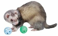 Marshall Ferret Cat 2 Plastic Balls w Bell Toy