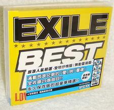 Exile BEST HITS LOVE SIDE / SOUL SIDE Taiwan Ltd 2-CD (Special Package)