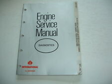International  DT & DTI  DTA 466 A B C Diesel  ENGINE SERVICE MANUAL DIAGNOSTICS