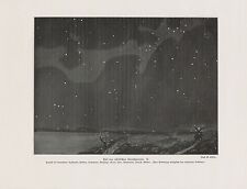Sternbild Widder Stier Orion Zwilling DRUCK von 1912 Stars Constellation Perseus