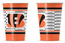 Cincinnati Bengals Disposable Paper Cups - 20 Pack [NEW] NFL Party Tailgate