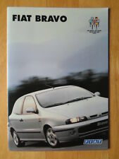 FIAT Bravo range orig 1996 UK Mkt sales brochure