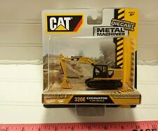 CAT CATERPILLAR 320E EXCAVATOR construction 1/90 Smaller 1:87 HO Scale Metal toy