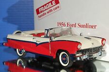 Danbury Mint 1956 Ford Fairlane Sunliner Convertible 1:24 No COT w Box SJ 9G
