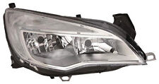 VAUXHALL ASTRA J 2010-2014 FRONT HEADLIGHT CHROME RIGHT HAND DRIVERS OFFSIDE