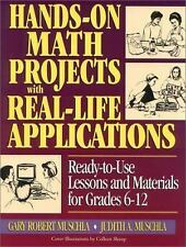 J-B Ed Hands On: Hands-on Math Projects with Real-Life Applications : Ready-to-…