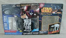 Metal Earth Star Trek, Transformers & Star Wars 3D Models, Set Of 3 Kits ~ NEW