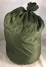 US Army Military WATERPROOF BAG CLOTHING BAG WET WEATHER BAG LAUNDRY BAG GC