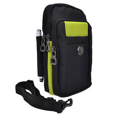 Green/Black Vertical Belt Clip Cellphone Pouch Bag For Samsung Galaxy S7 Edge