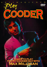 ArtsMagic PLAY Slide GUITAR THE RY COODER WAY Video Lesson DVD With Max Milligan