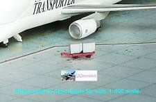 DRAGON WINGS AIRPORT GSE Diorama Accessories CARGO + RED TROLLEY 1:400 GSE_8b