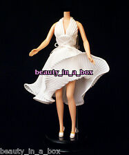 Marilyn Monroe Classic Iconic White Dress Barbie Doll Fashion Sex Symbol