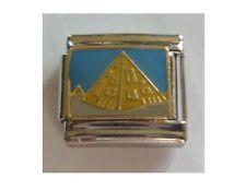 9mm Classic Tamaño Italiano encantos encantos E10-Egyptian Pirámide De Egipto