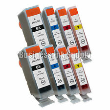 8 New Ink Cartridges For Canon CLI8 PGI5 Pixma MP500