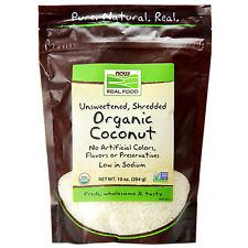 Now Foods Unsweetened Shredded Organic Coconut - 1 Bag