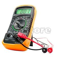 EXCEL Digital Multimeter XL830L Volt Meter Ammeter Ohmmeter Tester Yellow SR1G
