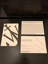 JW Anderson London Fashion Week Book Of Postcards Great Christmas Gift Idea