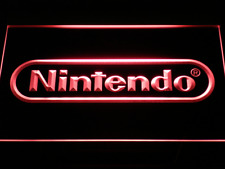 Nintendo Game Room Bar Beer Neon Light Led Sign With On/Off Switch 7 Colors