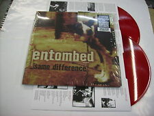 ENTOMBED - SAME DIFFERENCE - 2LP RED VINYL 2014 NEW