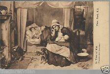 In Time of War Thomas Faed  Walker Art Gallery Old Unposted Postcard
