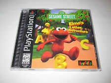 Elmo's Letter Adventure (PlayStation PS1) Complete Excellent!