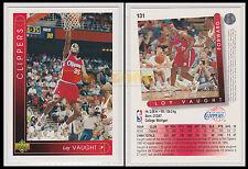 NBA UPPER DECK 1993/94 - Loy Vaught # 131 - Clippers - Ita/Eng - MINT