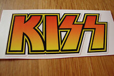 "2  KISS STICKERS 3"" MOTORBIKE HELMETS RACING CARS MOTORSPORT TT IOM PHONE"