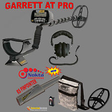 Garrett At Pro Metal Detector + Nokta Rs Pinpointer + Extra Accessories Treasure