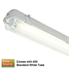 2FT 18w T8 Single Fluorescent IP65 Weatherproof HF Fitting. [Tube Included]