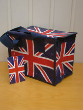 Ted Smith Union Jack Red White & Blue Coolbox Bag Camping Campers Kids Bag