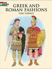 Dover Fashion Coloring Book: Greek and Roman Fashions by Tom Tierney (2013,...