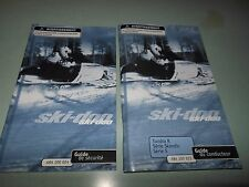 Ski-Doo Tundra Skandic S 2001 Guide Du Conducteur Securite # 484 100 023  FRENCH