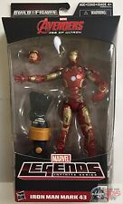 IRON MAN MARK 43 Avengers MARVEL LEGENDS Thanos Wave 2 Hasbro 2015 6 INCH FIGURE