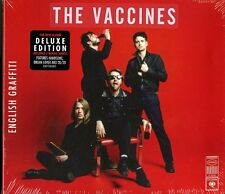 THE VACCINES ENGLISH GRAFFITI DELUXE EDITION CD NUOVO E SIGILLATO