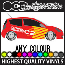 CITROEN C2 Race Rally gráficos calcomanías decorativas Kit HDI VTS