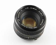 Objektiv Minolta MC Rokkor-PF 1:1.7 f=50mm - Lens Minolta MD 50mm f/1.7 (EL)