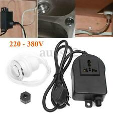 220-380V Air Switch Button + Plug For Massage Chair Spa Waste Garbage Disposal