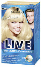 Schwarzkopf Live Intense Lightener Absolute Platinum 00A